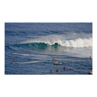 Tubed at Jaws photo print
