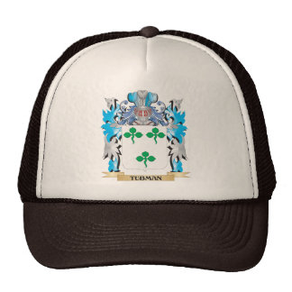 Tubman Coat of Arms - Family Crest Mesh Hat