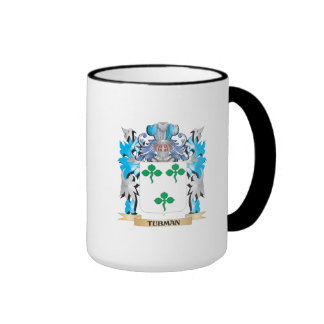 Tubman Coat of Arms - Family Crest Ringer Mug