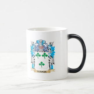 Tubman Coat of Arms - Family Crest Morphing Mug