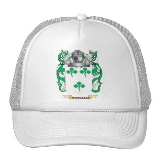 Tubman Family Crest (Coat of Arms) Mesh Hat