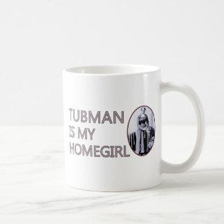 Tubman is my homegirl basic white mug