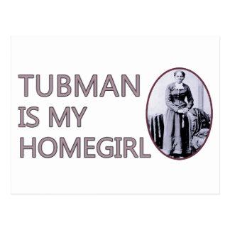 Tubman is my homegirl postcard