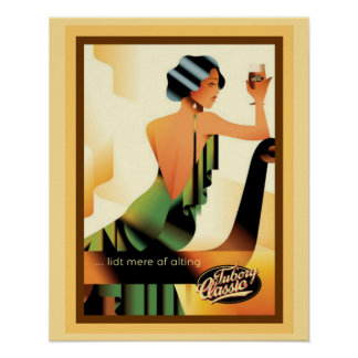 Tuborg Classic Advertisement Poster 16 x 20