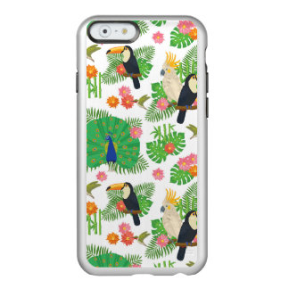 Tucan And Peacock Pattern Incipio Feather® Shine iPhone 6 Case