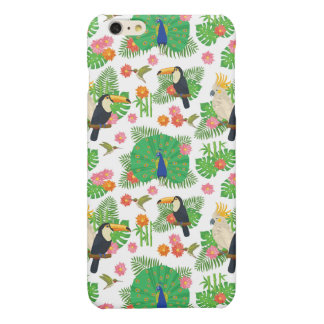 Tucan And Peacock Pattern iPhone 6 Plus Case