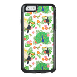Tucan And Peacock Pattern OtterBox iPhone 6/6s Case