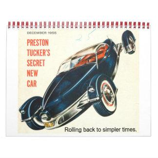 Tucker Car Calendar