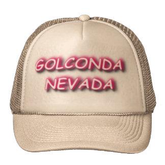 Tucker hat with Golconda Nevada