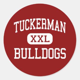 Tuckerman - Bulldogs - High - Tuckerman Arkansas Classic Round Sticker
