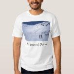 Tuckerman's Ravine Skiiers Mount Washington T-shirt