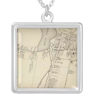 Tuckerton, New Jersey Silver Plated Necklace