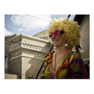 Tucks Mardi Gras Postcard