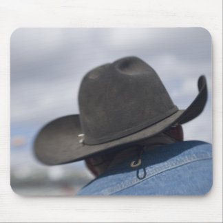 Tucson, Arizona. Cowboy hats in use at the Mouse Pad