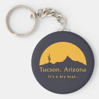 Tucson, Arizona - It's a dry heat... Key Ring