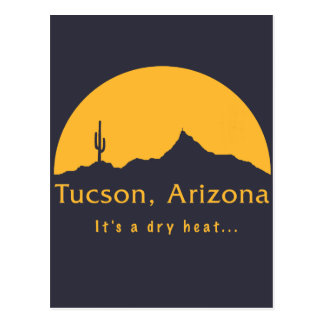 Tucson, Arizona - It's a dry heat... Postcard