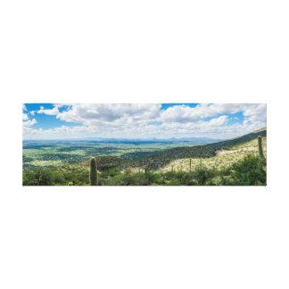 Tucson, Arizona Panoramic #1 Canvas Print