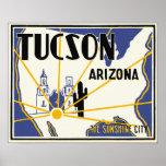 Tucson, Arizona Poster