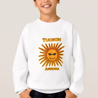 Tucson Arizona Text Logo Sweatshirt