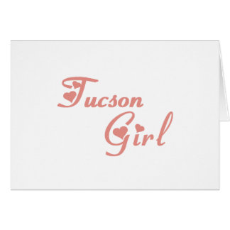 Tucson Girl tee shirts Card