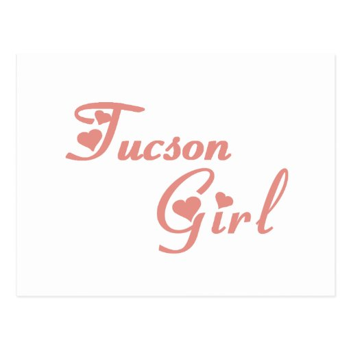 Tucson Girl tee shirts Postcard