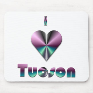 Tucson -- Purple Turquoise Mouse Pads
