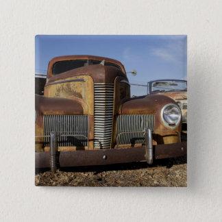 Tucumcari, New Mexico, United States. Route 66. 15 Cm Square Badge
