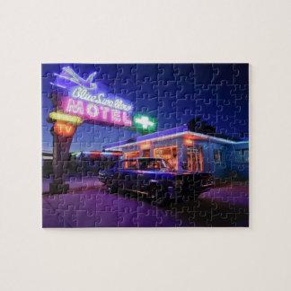 Tucumcari, New Mexico, United States. Route 66 2 Jigsaw Puzzle