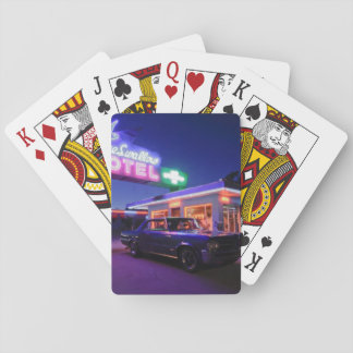 Tucumcari, New Mexico, United States. Route 66 2 Playing Cards