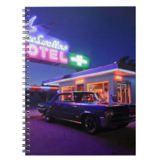 Tucumcari, New Mexico, United States. Route 66 2 Spiral Notebook