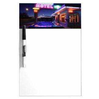 Tucumcari, New Mexico, United States. Route 66 Dry Erase Board