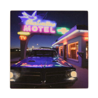 Tucumcari, New Mexico, United States. Route 66 Wood Coaster