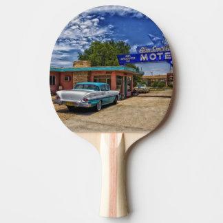 Tucumcari, NM - Rt 66 Ping Pong Paddle