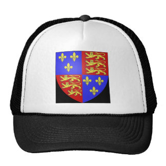 TUDOR COAT OF ARMS KING HENRY VIII. CAP