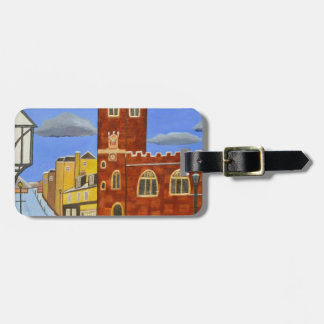 Tudor House in Exeter Luggage Tag