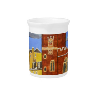 Tudor House in Exeter Pitcher