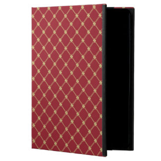 Tudor Red and Gold Criss-Cross Pattern Powis iPad Air 2 Case