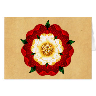 Tudor Rose Card