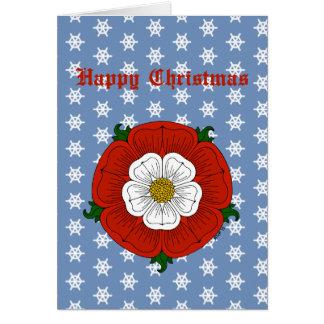 Tudor Rose Christmas Card