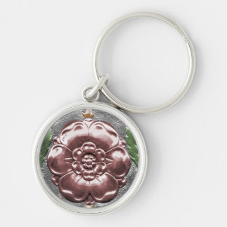 Tudor Rose Key Fob