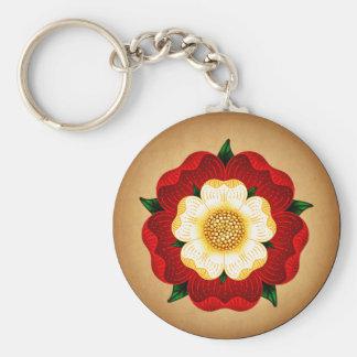 Tudor Rose Key Chains