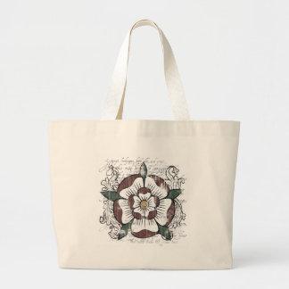 Tudor Rose Light Tote Bag