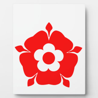 Tudor Rose. Plaque