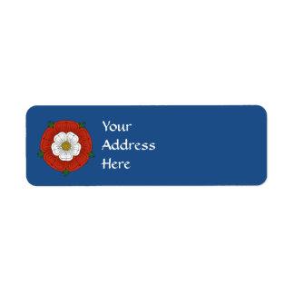 Tudor Rose Return Address Label