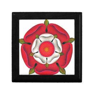 Tudor Rose Small Square Gift Box