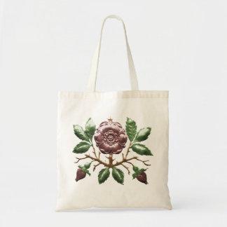 Tudor Rose Tote Budget Tote Bag