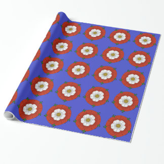 Tudor Rose Wrapping Paper