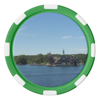 Tudor Style House, 1000 Islands Poker Chips