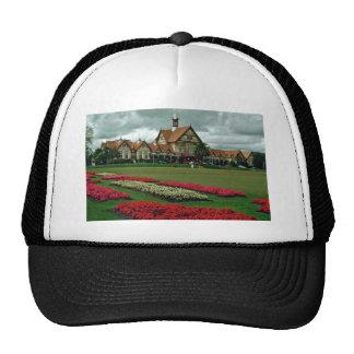 Tudor Towers Government Gardens, Rotorua flowers Trucker Hat