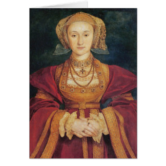 Tudors - Anne of Cleves Greeting Card